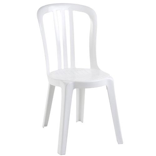 location de chaise bistrot pvc